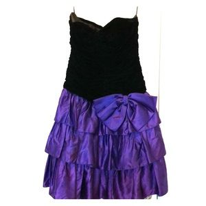 Strapless 80s Prom/Party Dress